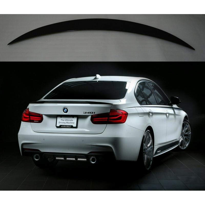 Alerón BMW Serie 3 G20 Sedan Performance (Negro Brillo)