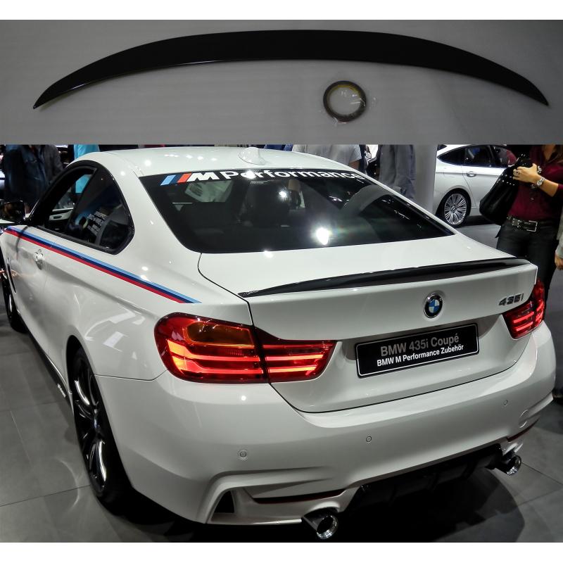 Alerón BMW Serie 4 F32 Coupé Performance (Negro Brillo)