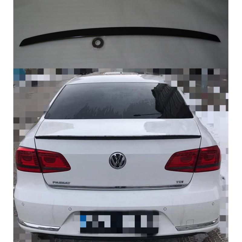 Alerón VolksWagen Passat B7 2010-2014 (Negro Brillo)